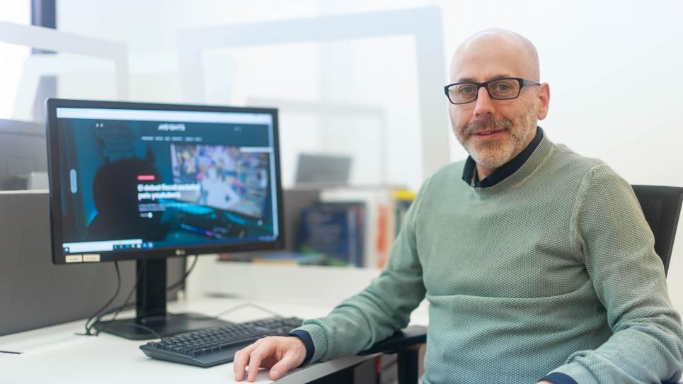Toni Sellas, coordinador editorial d'Insights