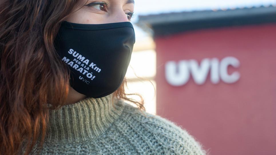 'Suma km per La Marató', el repte solidari de la UVic-UCC per La Marató de TV3