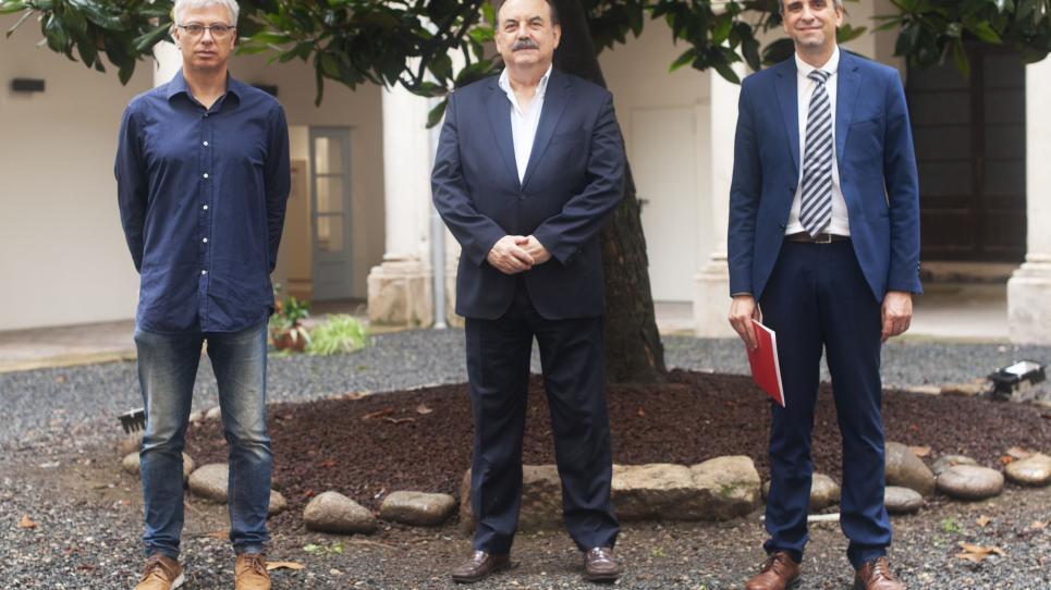 Pere Martí, Josep Eladi Baños i Jaume Alemany