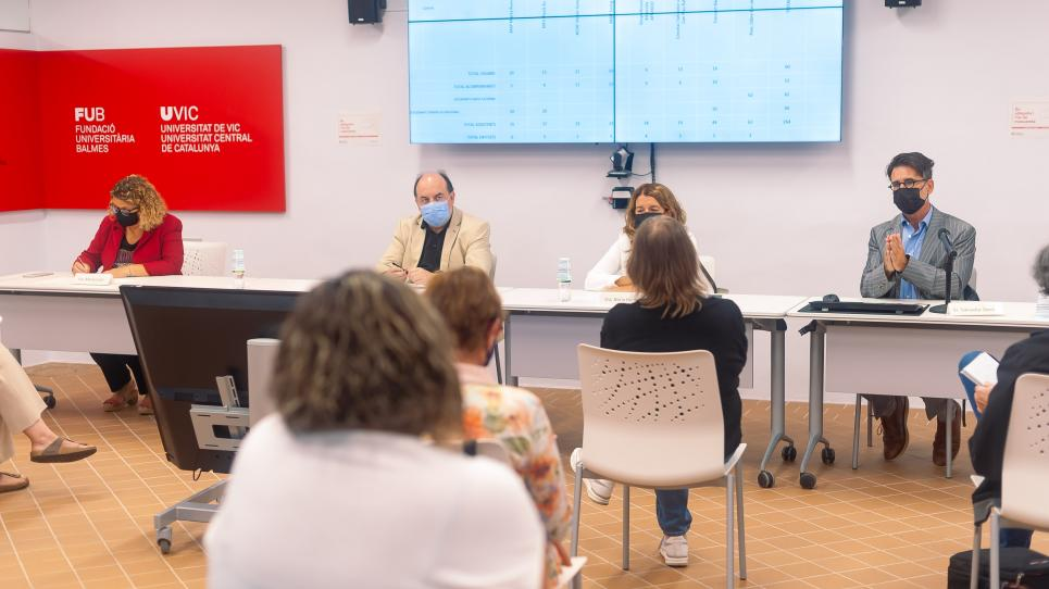 Acte de presentació del projecte 'Vic. Cultura i Alzheimer'