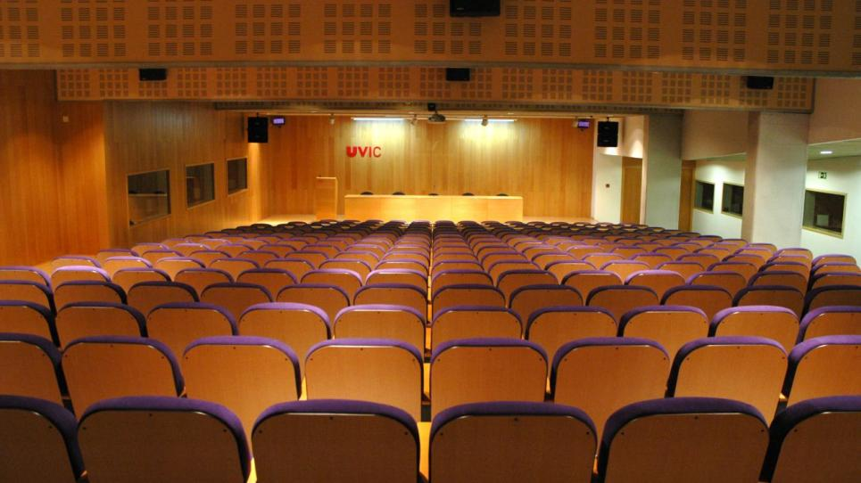 Aula Magna de la UVic-UCC