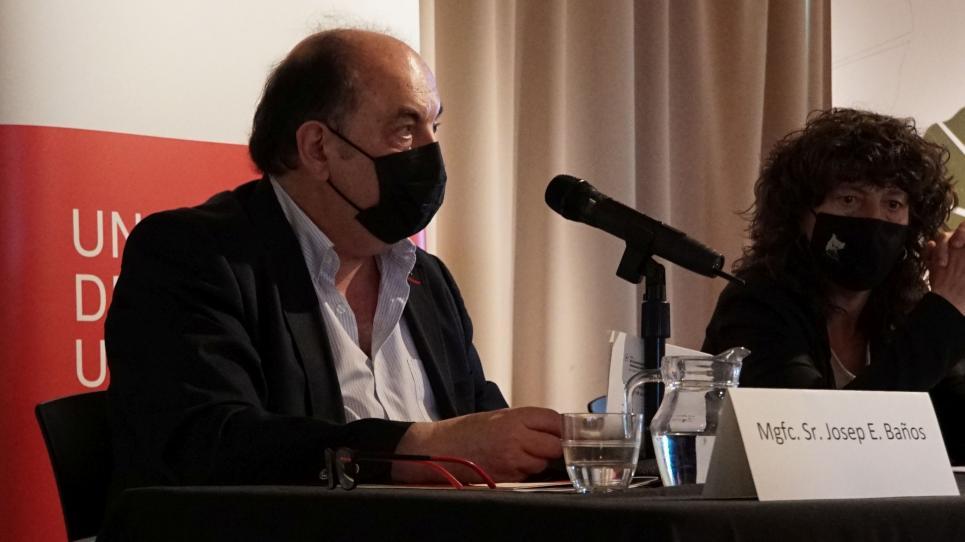El rector Josep Eladi Baños