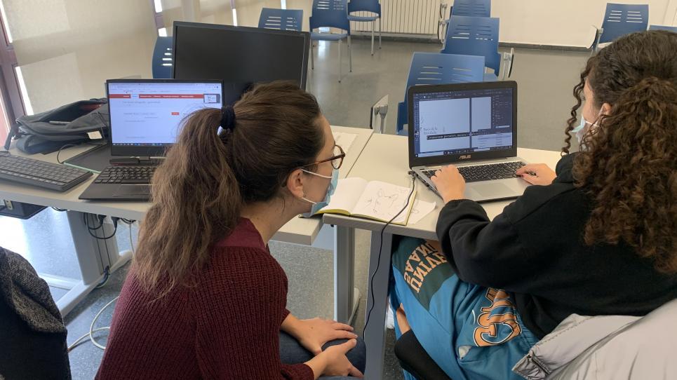 Estudiants del Campus Professional participen en competicions de programació i disseny