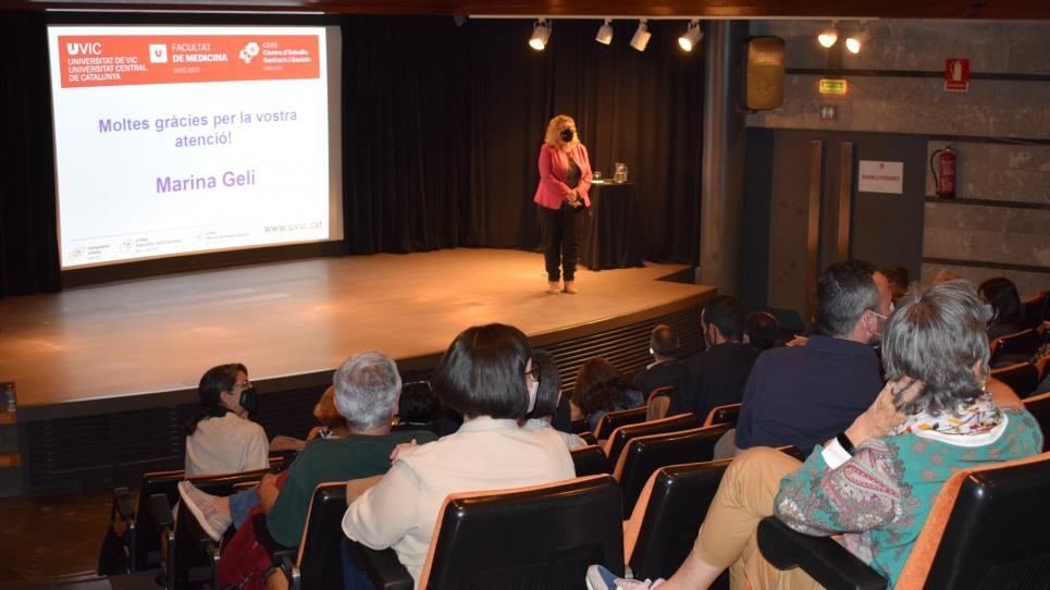 Conferència de Marina Geli a Manresa