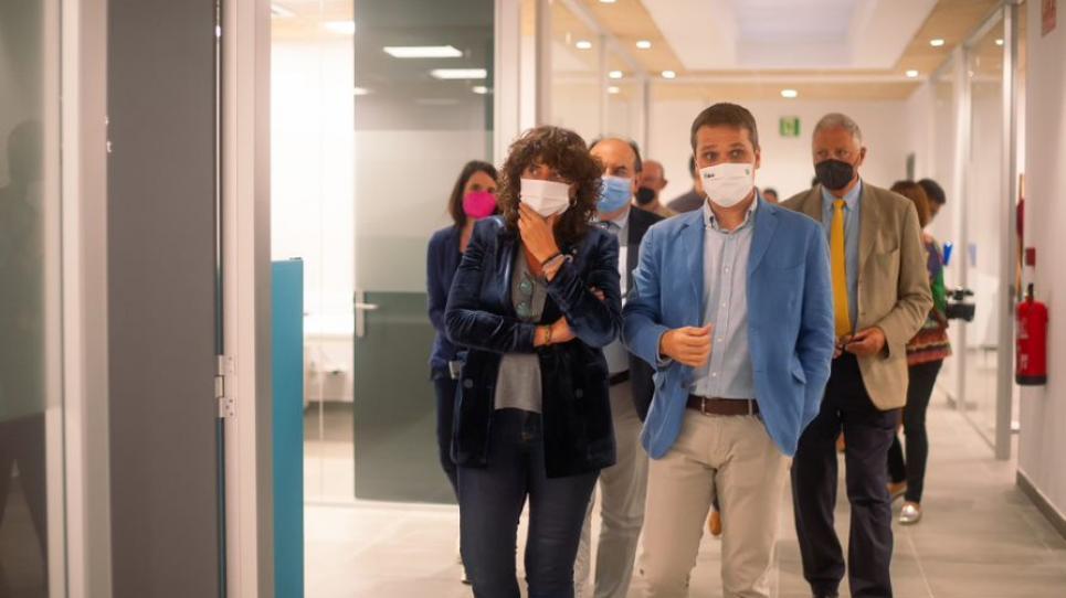 Teresa Jordà i Sergio Ponsá al CT BETA