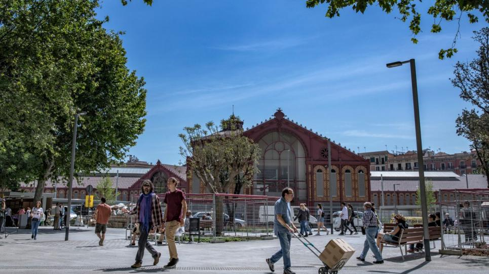 Superilla del barri de Sant Antoni de Barcelona