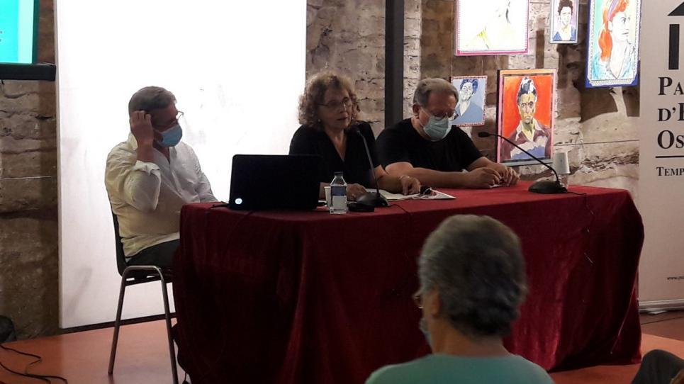 Miquel Pérez, Carme Rubio i Anton Granero