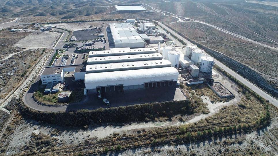 Localització de la futura biorefineria a Saragossa