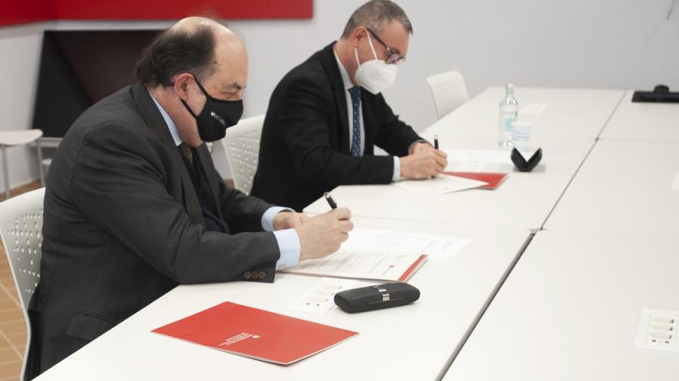 Signatura conveni Joviat