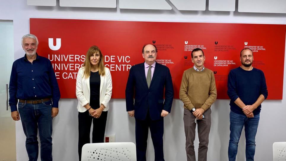 Visita Mossos d'Esquadra a la UVic-UCC