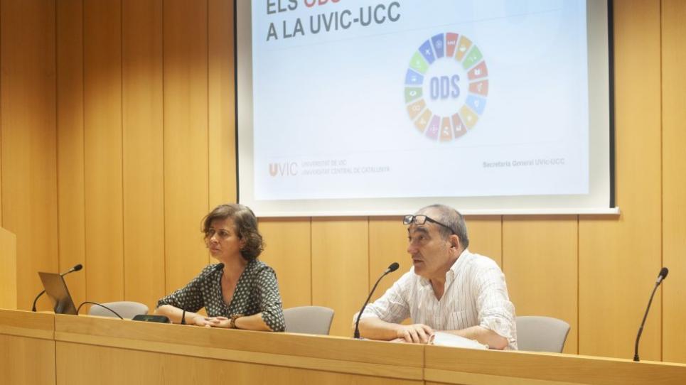 Anna Sabata i Josep Burgaya